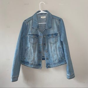 Ci Sono light wash denim jacket size XL